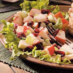 Honeyed Cranberry Waldorf Salad