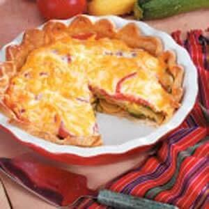 Summer Squash Pie