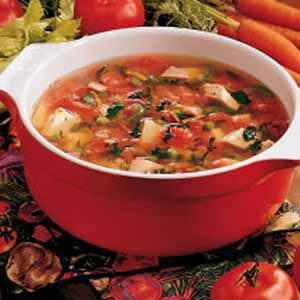Old-Fashioned Turkey Soup
