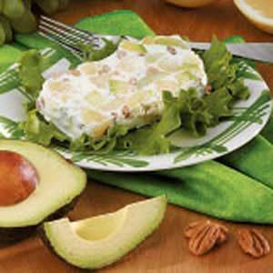 Frozen Grapefruit-Avocado Salad