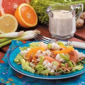 Orange Crab Salad