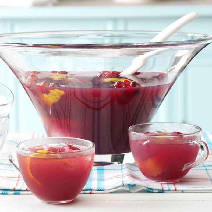 Cranberry Fruit Punch