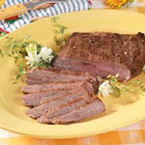 Peppered Flank Steak