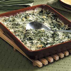 cheesy Spinach Bake