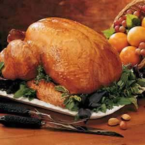 Turkey with Orange-Honey Glaze