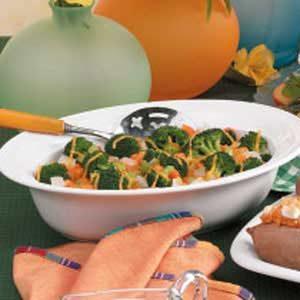 Cheesy Carrot Broccoli Casserole