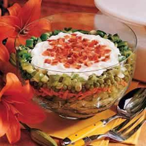 Glass Bowl Salad