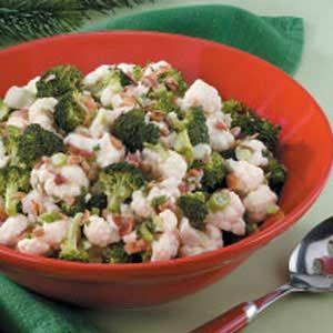 Overnight Floret Salad
