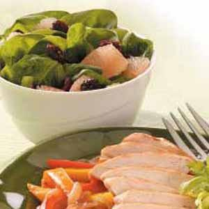 Spinach Grapefruit Salad