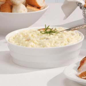 Feta Cheese Mashed Potatoes