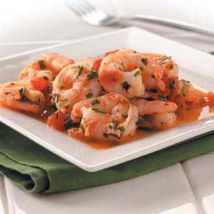 Shrimp in Herbs