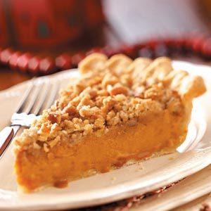 Eggnog Sweet Potato Pie