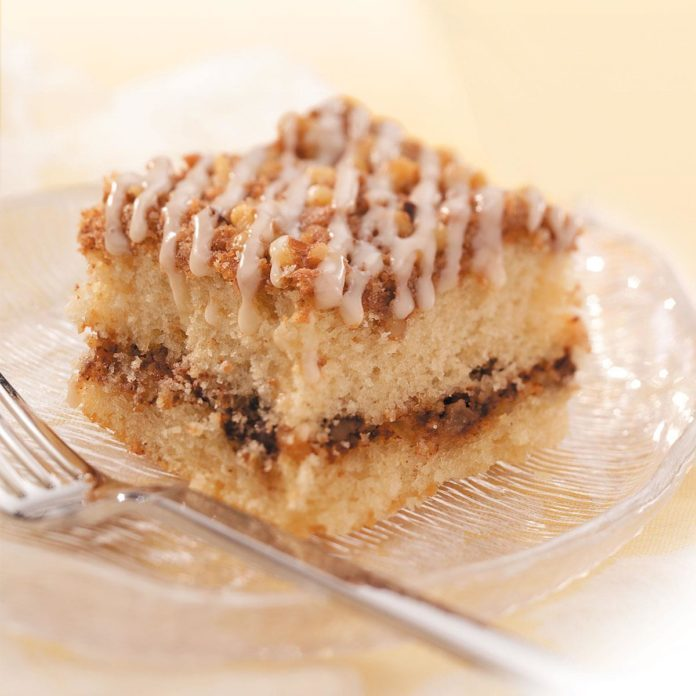 Inspired by: Cinnamon Swirl Coffee Cake from Starbucks