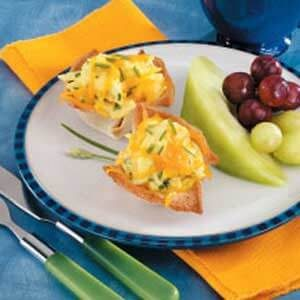 Scrambled Egg Cups for Two