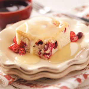 Celebration Cranberry Cake