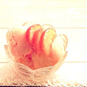 Creamy Peach Sherbet