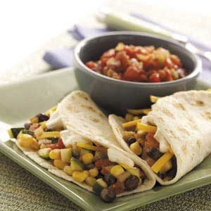Soft Vegetable Tacos