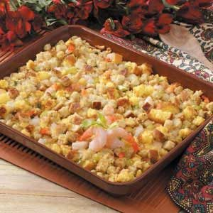 Shrimp Corn Bread Dressing