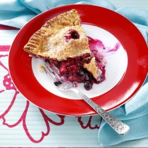 Four-Fruit Pie