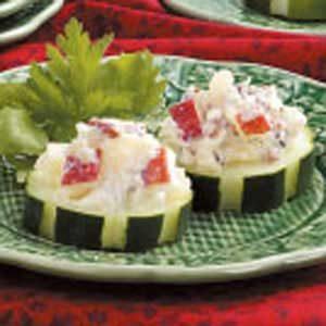 Crunchy Cucumber Rounds