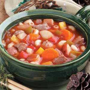 Hearty Goose Soup