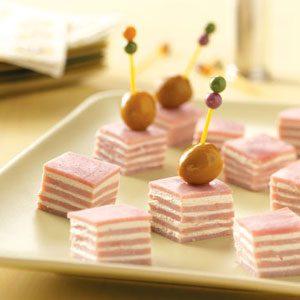 Horseradish Ham Cubes