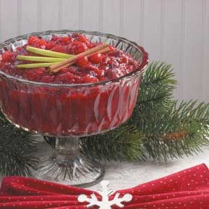 Chunky Cranberry Applesauce