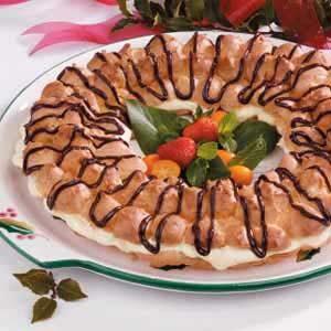 Almond-Cream Puff Ring