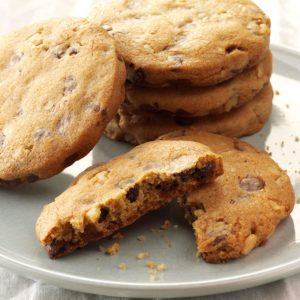 Orange-Cinnamon Chocolate Chip Cookies