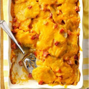 Scalloped Potatoes 'n' Ham Casserole