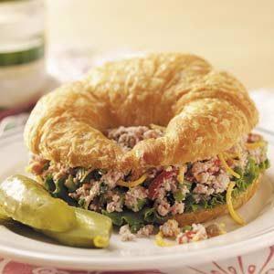 Ham Salad Croissants