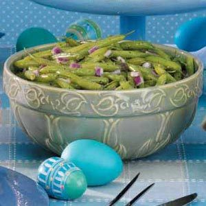 Chilled Green Beans Italiano