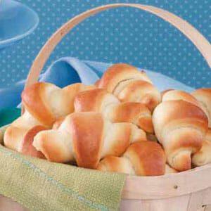 Bread Machine Crescent Rolls