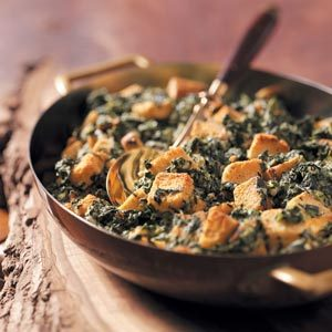 Creamy Spinach and Cheese Casserole