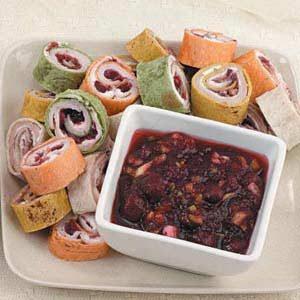Turkey Tortilla Spirals
