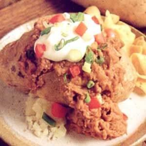 Tex-Mex Stuffed Potatoes