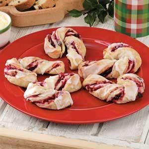 Cranberry Christmas Canes