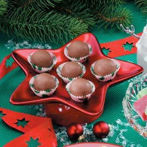 Maple Nut Balls