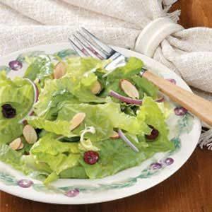 Autumn Salad with Orange Vinaigrette