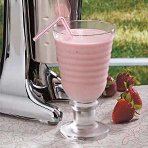 Springtime Strawberry Malts