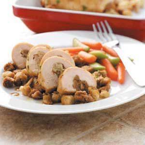 Maple-Glazed Chicken Roll-Ups