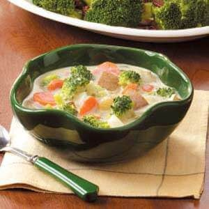 Broccoli and Carrot Chowder