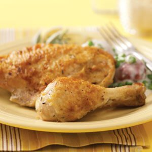 Fried Chicken with Pan Gravy