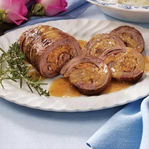 Cheese-Stuffed Flank Steak