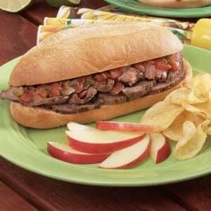 Texas-Style Steak Sandwiches