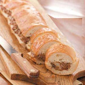 French Bread Stuffed with Beef
