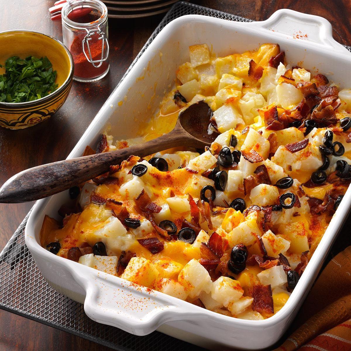 Bacon Cheese Potatoes Recipe   Taste of Home