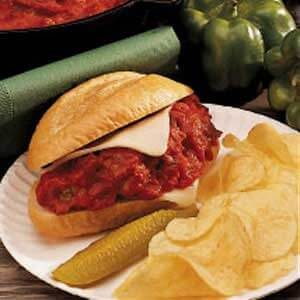 Favorite Meatball Sandwiches