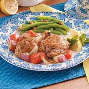 Greek Chicken Dinner