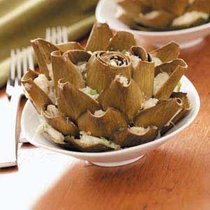Crab-Stuffed Artichokes